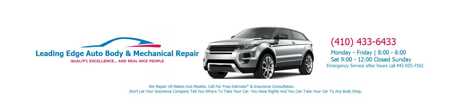 Logo for Leading Edge Auto Body & Mechanical Repair