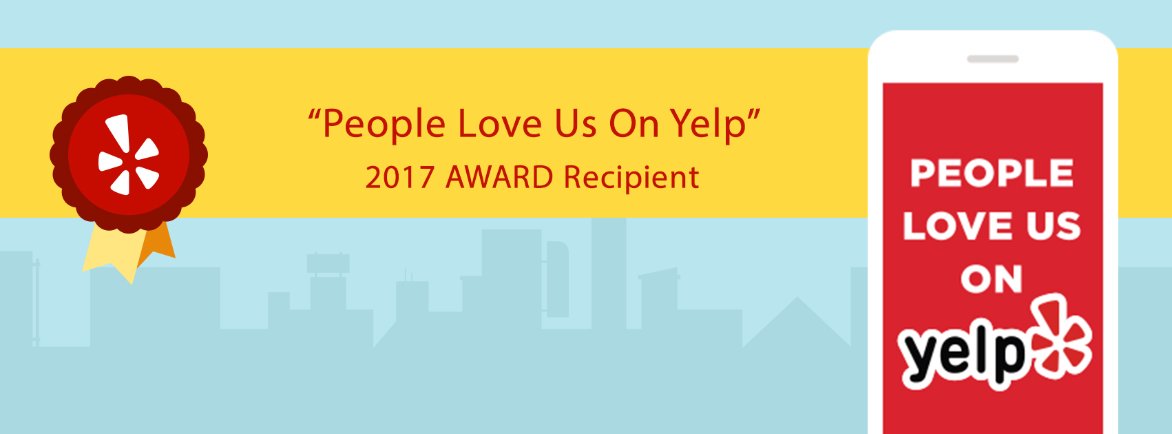 2017 Award Presented To Leading Edge Auto Body & Mechanical Repair  shop from Yelpo
